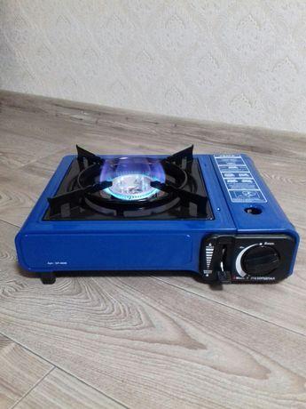 Походная портативная газовая плита печка