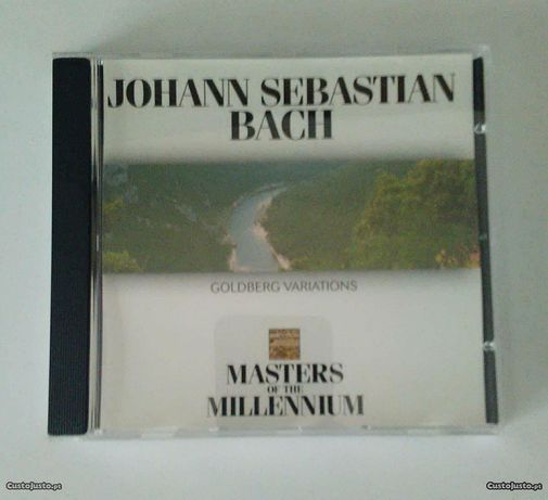 CD - Bach: Masters Of The Millennium