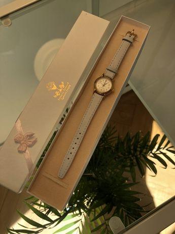 Zegarek biały na komunię