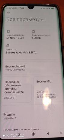 Xiaomi mi note 10 lite 6/64