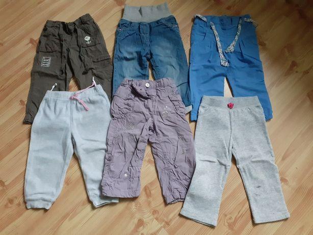 Spodnie ocieplane i dresy 86
