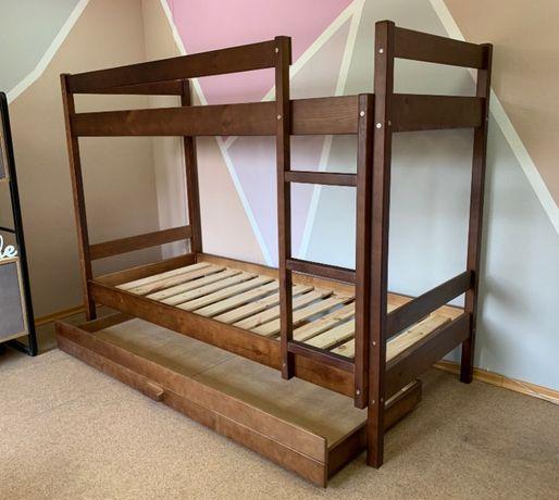 Кровать двухъярусная от производителя Олимп Орех