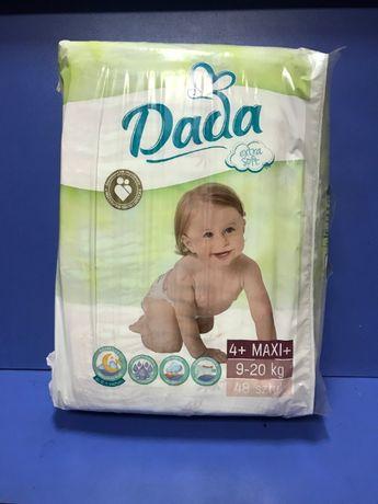 Підгузники Dada 48 штук 4+ maxi+ 9-20 кг