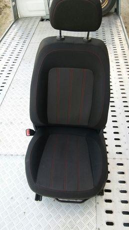 Tapicerka fotela kierowcy Opel Corsa D