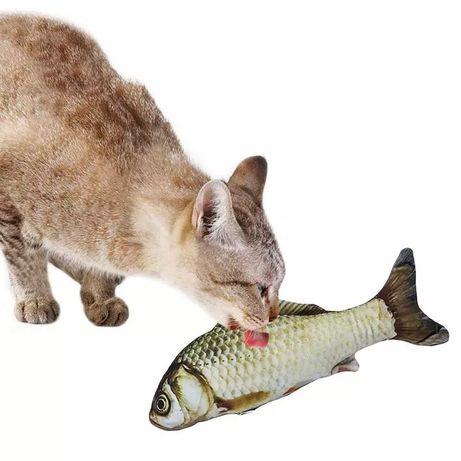 Zabawka dla kota ryba z kocimietką