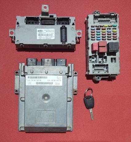 Блок управления двигателем Peugeot Boxer 2.2Mjet 9666360280