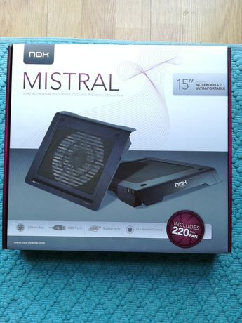 """Nox Mistral Notebook Cooling Pad 15"""""""