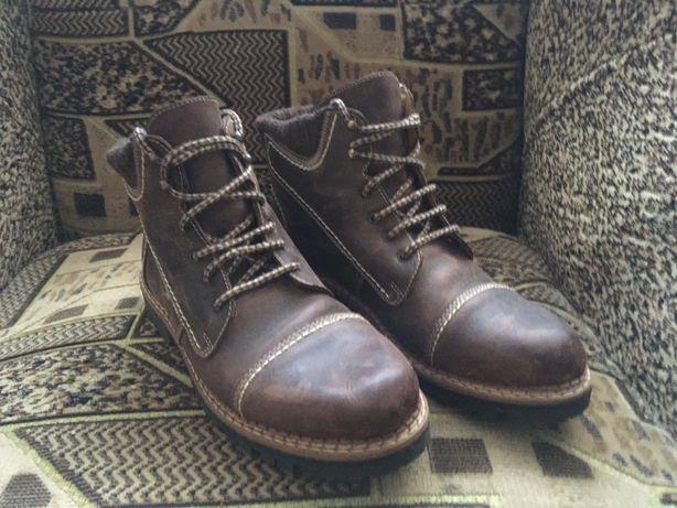 Ботинки 41 размер кожа crazy horse торг