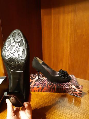 Туфли женские кожа велюр,новые