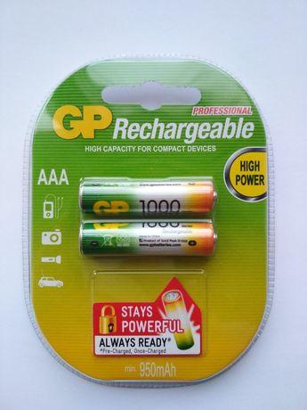Аккумулятор GP 1000 mAh AAA R03 Ni-MH (Цена за блистер)