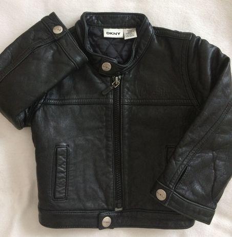 Продам крутую кожаную куртку от DKNY.Оригинал!