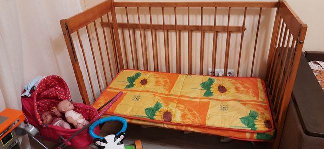 Дитяче ліжечко +матрас