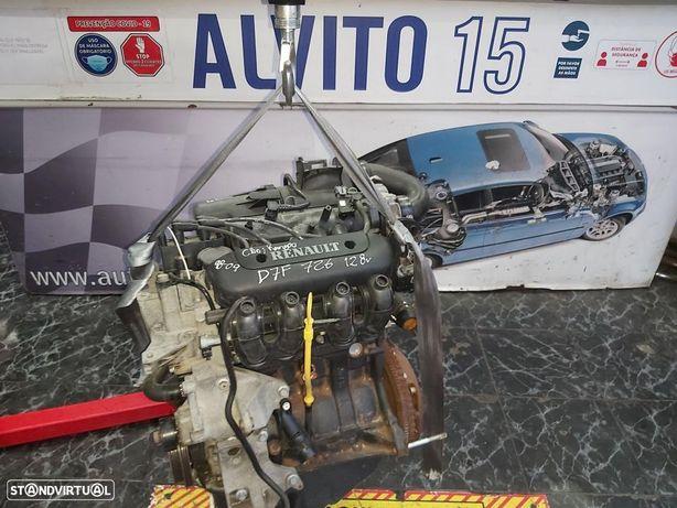 Motor Completo Renault Clio Kangoo 1.2 8v  83.000Km   Ref: D7F 726