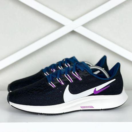 Кроссовки женские 38.5 Nike Air Zoom Pegasus 36 стильные 24.5см