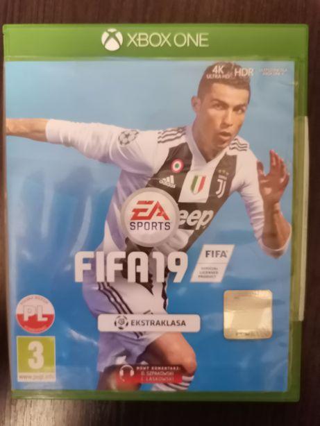 Gra FIFA 19 xbox one!