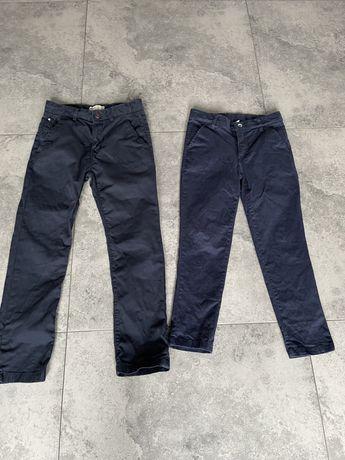 Eleganckie spodnie oryginalne chłopięce rozm.122-128