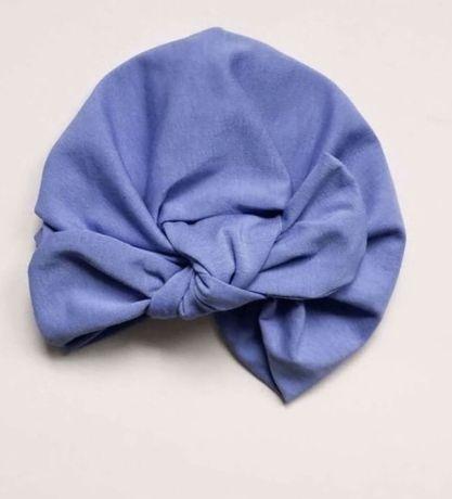 Демисезонная шапка солоха тюрбан