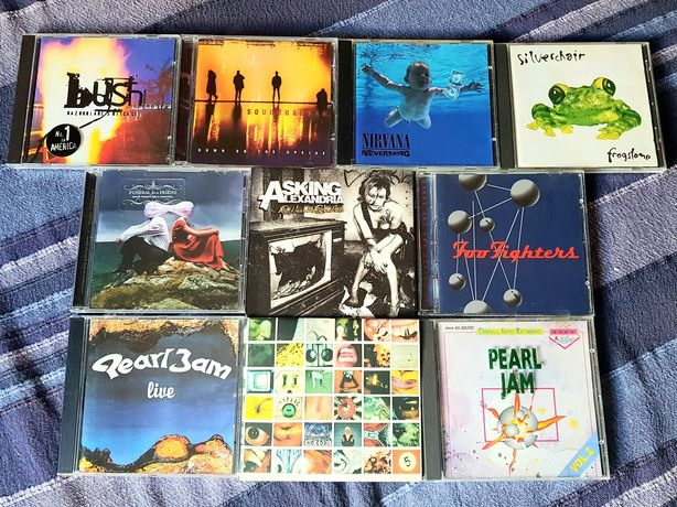 Lote de 10 CDs - Grunge/Metalcore (Portes Grátis)