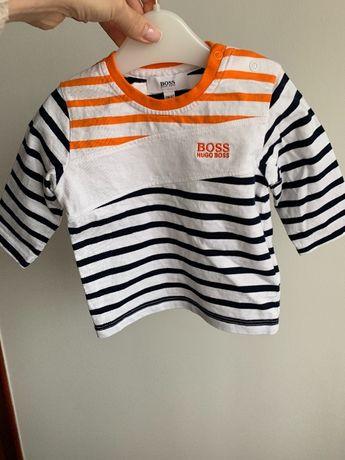 Oryginalna bluzeczka niemowleca Hugo Boss na 6 miesiecy