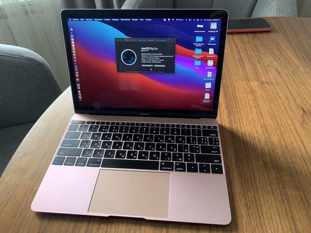 MacBook 12 Retina a1534 Rose  Gold 256 SSD 8gb intel m3 1,1 GHz 2 core