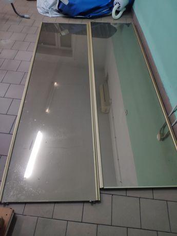 Drzwi przesuwne do szafy lustrzane