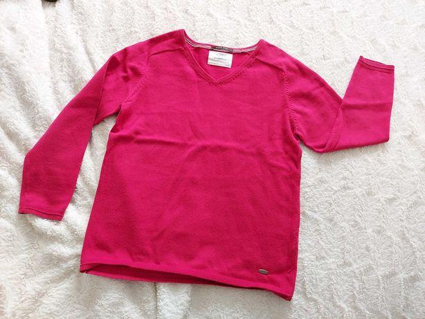 Czerwony sweter Zara 140 cm 9/10 lat chłopiec