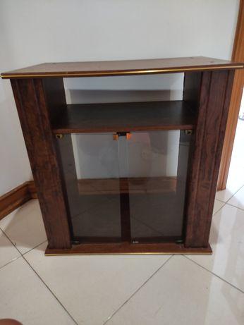 Móvel de TV madeira vintage