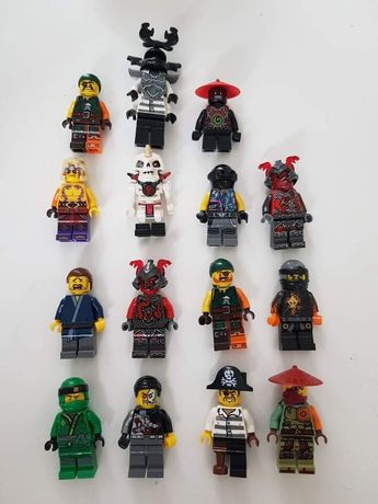 Figurki z lego ninjago