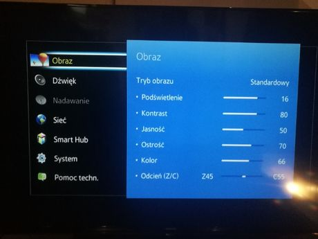 (2946/20) D Telewizor Samsung UE48H6700SL +Zasilacz +Pilot
