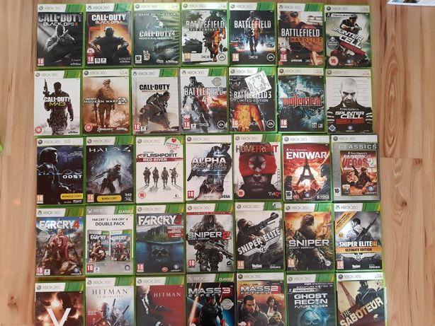 Mass Effect Splinter Cell Battlefield Hitman gry Xbox 360