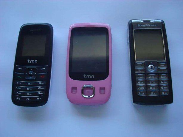3 telemóveis funcionais