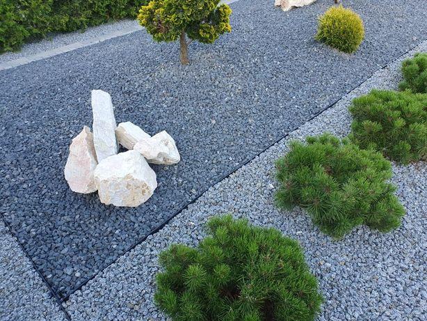 Grys czarny grafit bazalt kamień naturalny darmowa dostawa +głaz
