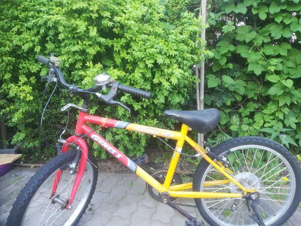 Rower dziecięcy 7 lat plus, koła 20 cali
