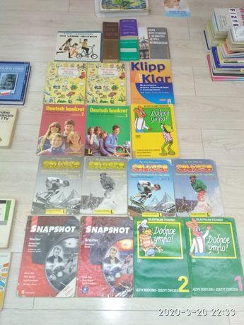 Zestaw 16 książek do nauki niemieckiego