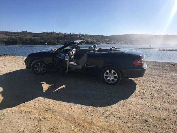 Mercedes CLK kompresso 200. Cabrio
