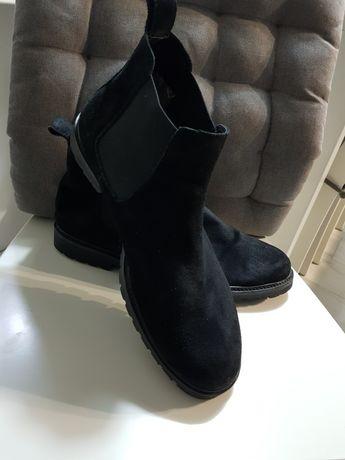 Buty kozaczki czarne