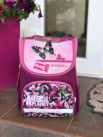 Школьный рюкзак с ортопедической спинкой КITE