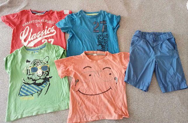 Koszulki i spodenki dla chłopca