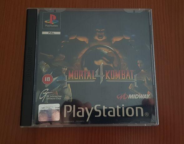 Playstation 1 Mortal Kombat 4