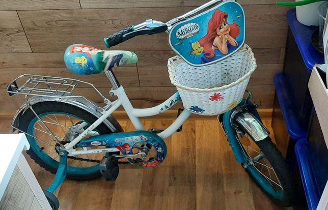 Срочно! Велосипед 16 дюймов для принцессы со сказочной Ариель!