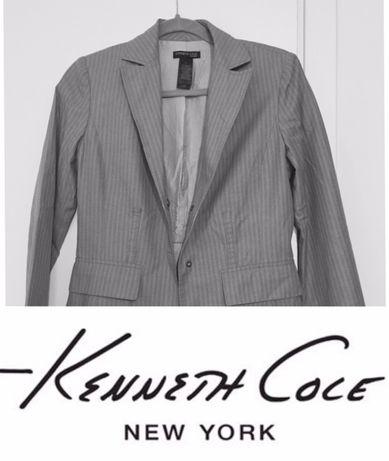 szara marynarka żakiet Kenneth Cole New York r. S(2) ORYGINALNY okazja