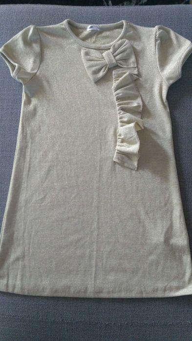 Sukienka dla dziewczynki i dwa potrafiące bolerko, r. 116 Lisowice - image 1