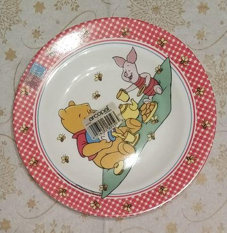 Новая тарелка детская Arcopal Disney Winnie Pooh Франция Только Донецк