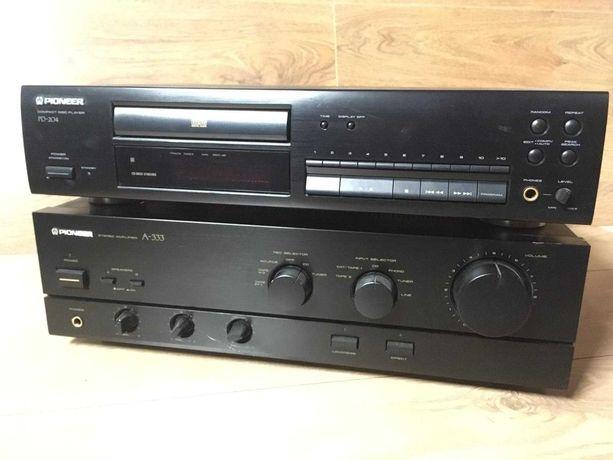 Wzmacniacz Pioneer A 333/cd Pioneer Pd 204