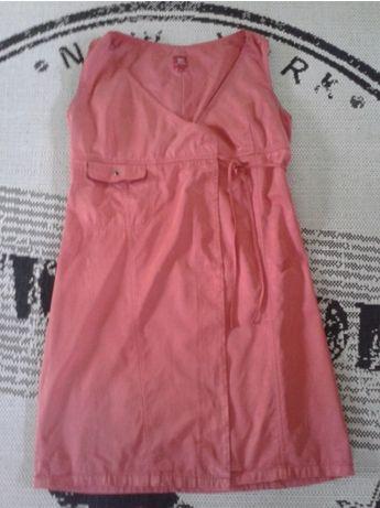Sukienka TIFFI 40 L czerwona PRET A PORTER wiązana