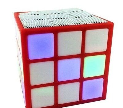 Колонка блютуз Безпроводная Блютуз Колонка Кубик Bluetooth speaker