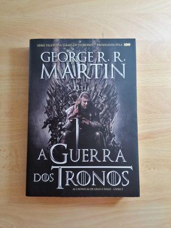 Livro- A Guerra dos Tronos
