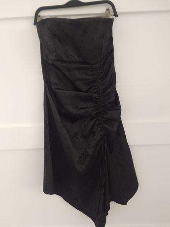 Czarna sukienka rozmiar xs/s rozm 34/36