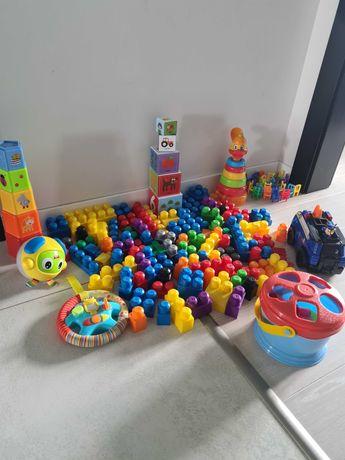Zabawki edukacyjne, klocki, samochod chase