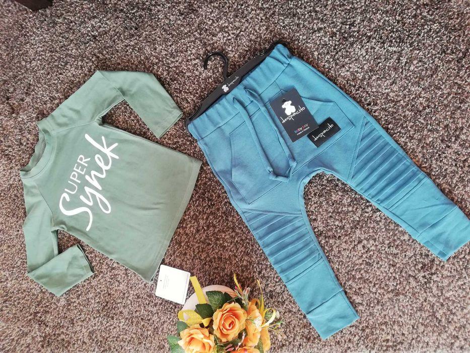 Spodnie plus bluza super synek nowe rozm 92 Gliwice - image 1